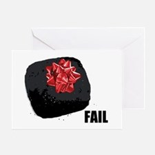 Coal Fail Greeting Card