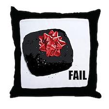 Coal Fail Throw Pillow