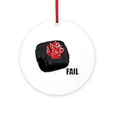Coal Fail Ornament (Round)