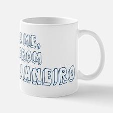 Kiss me: Rio de Janeiro Mug