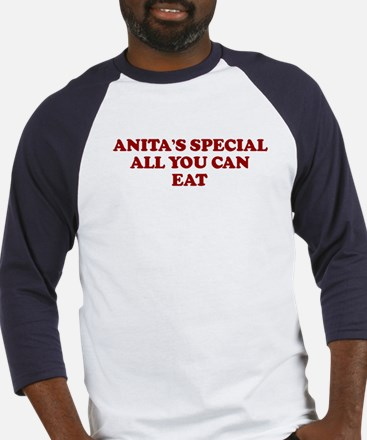 ANITA'S SPECIAL ALL YOU CAN Baseball Jersey
