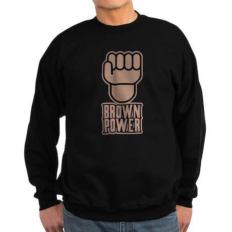 Brown Power Sweatshirt (dark)