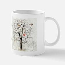 """"""" Winter and hearts """" Mug"""