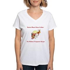Santa Must Have Celiac Shirt