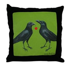Unique Cherry Throw Pillow