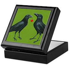 Cute The crow Keepsake Box