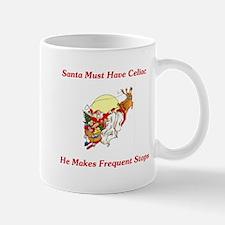 Santa Must Have Celiac Mug