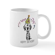 Dalmatian Happy Birthday Mug