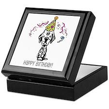 Dalmatian Happy Birthday Keepsake Box