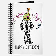 Dalmatian Happy Birthday Journal