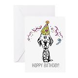 Dalmatian Greeting Cards (20 Pack)