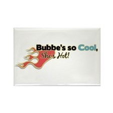 Bubbe's so Cool Rectangle Magnet