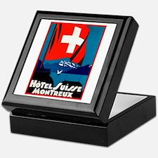 Hotel Suisse (Montreux) Keepsake Box
