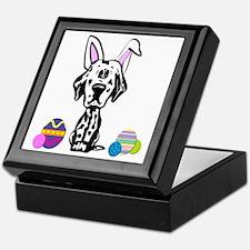 Easter Bunny Dalmatian Keepsake Box