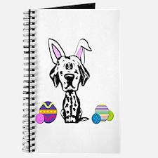 Easter Bunny Dalmatian Journal