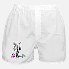 Easter Bunny Dalmatian Boxer Shorts