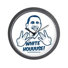 White Houuuse! Wall Clock