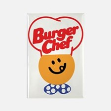 Burger Chef Rectangle Magnet (100 pack)