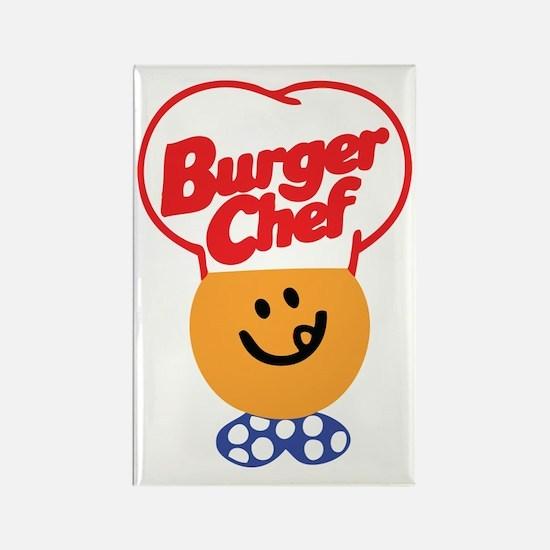 Burger Chef Rectangle Magnet