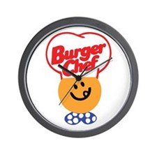 Burger Chef Wall Clock
