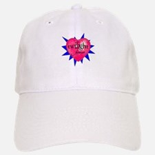 twilight forever heart /blue Baseball Baseball Cap