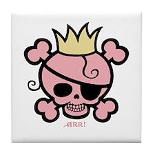 Polly Princess Tile Coaster