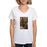 New Year Gala Women's V-Neck T-Shirt