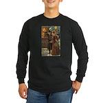 New Year Gala Long Sleeve Dark T-Shirt