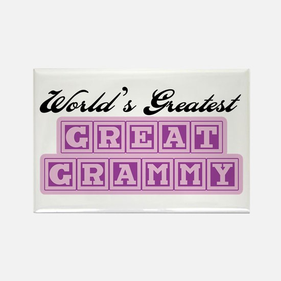 World's Greatest Great Grammy Rectangle Magnet