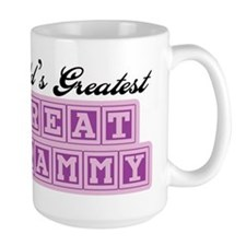 World's Greatest Great Grammy Ceramic Mugs