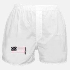 US Hockey Flag Boxer Shorts
