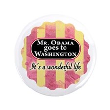 James Stewart/Barack Obama holiday button