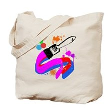 Paint brush Tote Bag