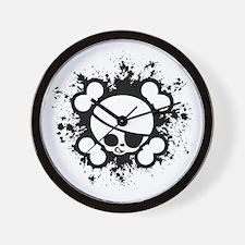 Jimmy Splat Wall Clock