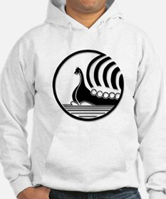 Front Centered Norseman Logo Hoodie