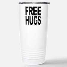 Free Hugs Stainless Steel Travel Mug