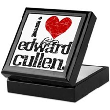 I Love Edward Cullen Keepsake Box