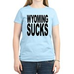 Wyoming Sucks Women's Light T-Shirt