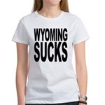 Wyoming Sucks Women's T-Shirt