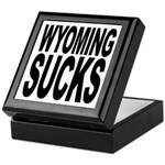 Wyoming Sucks Keepsake Box