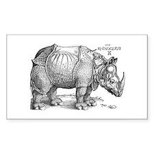 Rhino Rectangle Decal