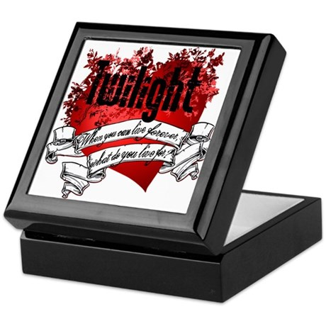 What do you live for? Keepsake Box