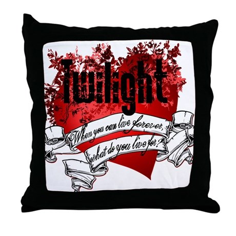 What do you live for? Throw Pillow