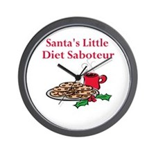 Diet Saboteur Wall Clock