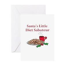 Diet Saboteur Greeting Card