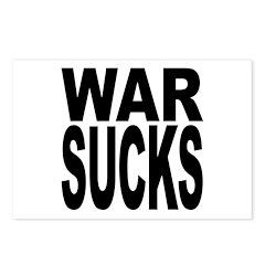 War Sucks Postcards (Package of 8)