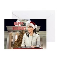 Happy Holidays Palin Greeting Cards (Pk of 20)
