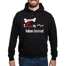 Redbone Coonhound Gifts Hoodie