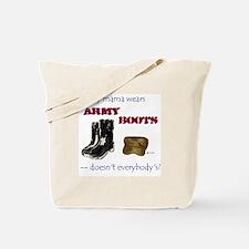 Mama's Boots/Tote Bag
