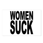 Women Suck Postcards (Package of 8)